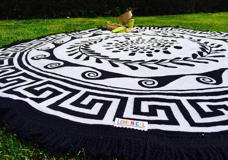 Раунди – Кръгла кърпа за плаж