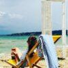 тънка кърпа за плаж лемоникал