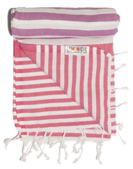 FLAMINGO Lemonical Beach Towel