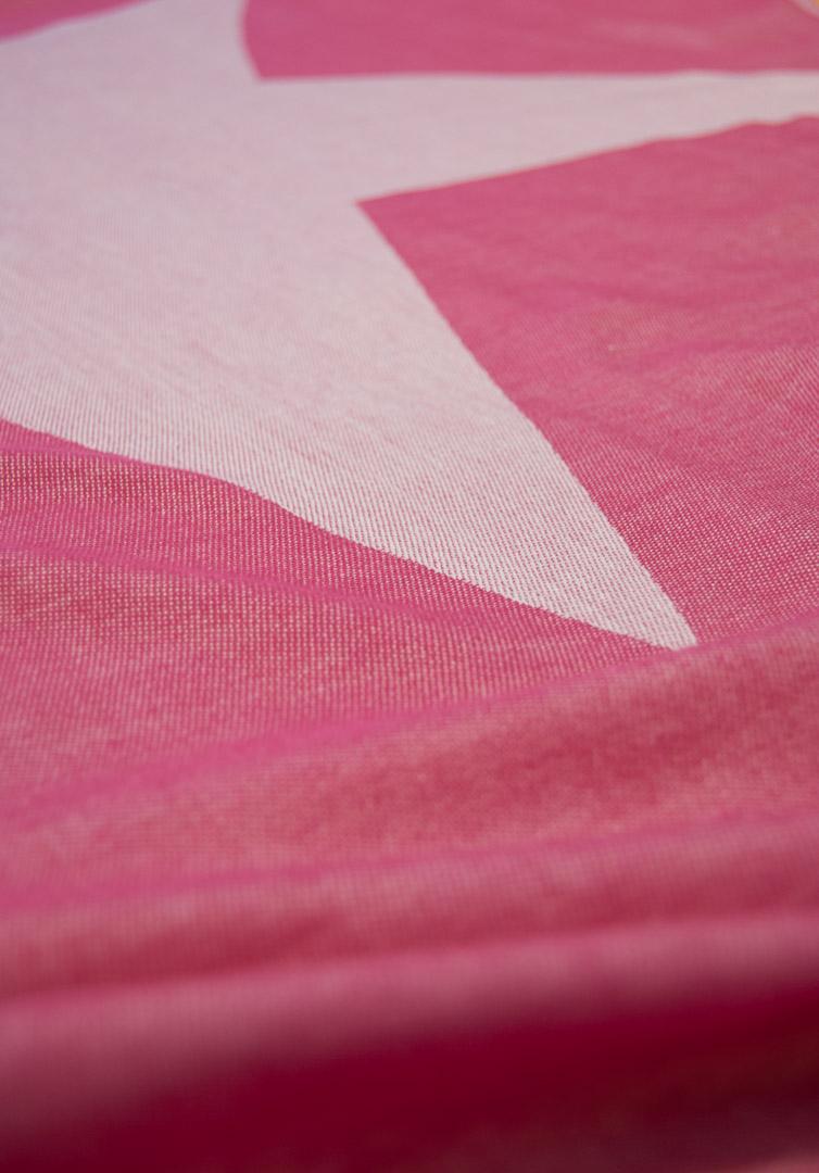 PINK STAR Lemonical Beach Towel