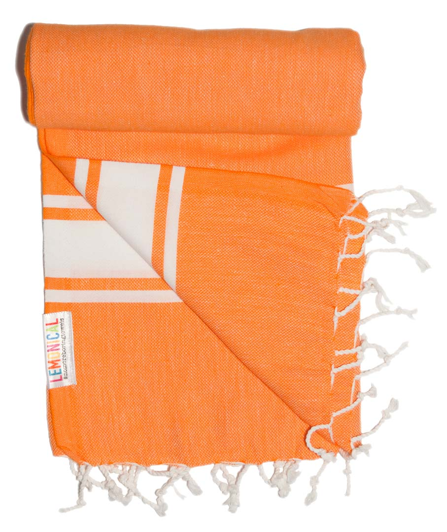 TANGERINE Lemonical Beach Towel