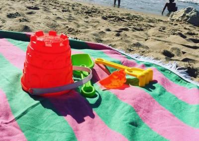 Watermelon Roundie Beach Towel