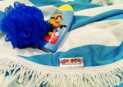 Lemonical Bath Roundie Towel