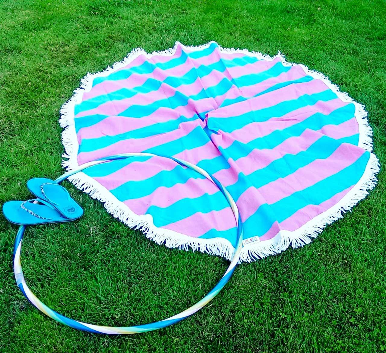 кръгла кърпа