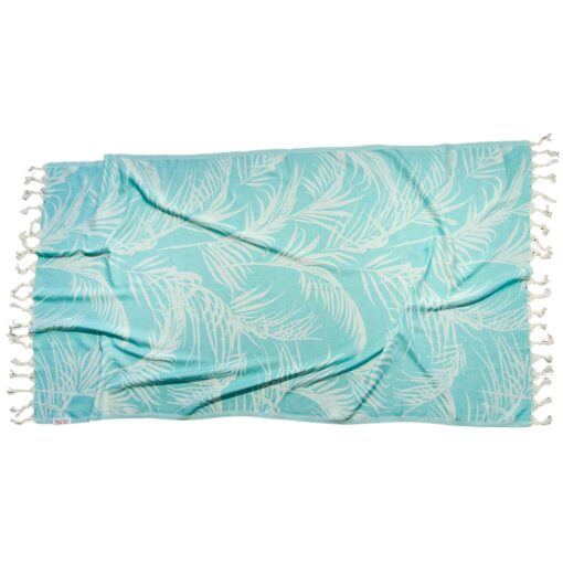 GREEN FEATHER Towel