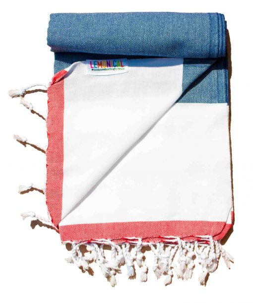 Wildberry beach towel Lemonical