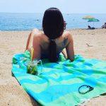 dolce far niente lemonical beach towels