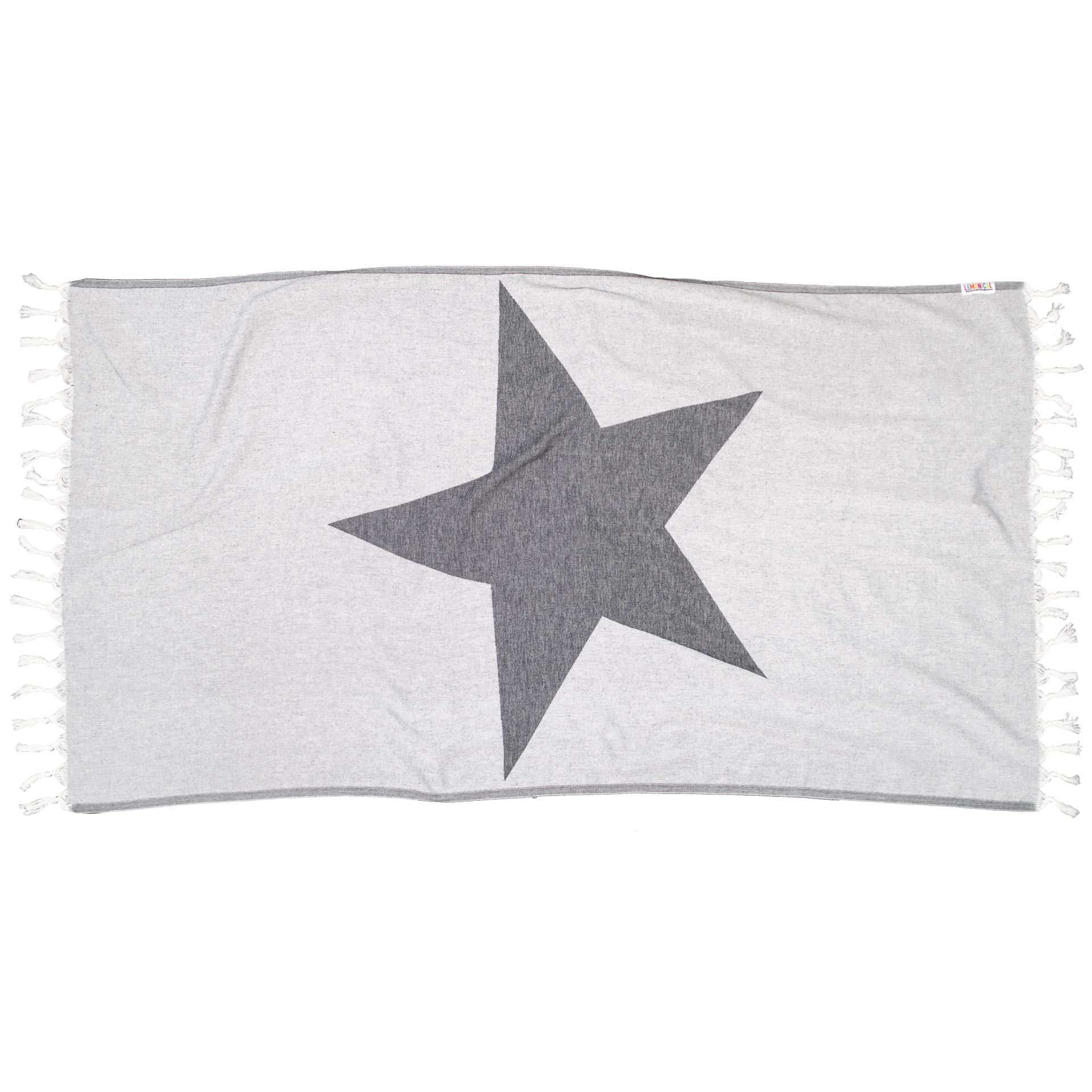 BLACK STARFISH TOWEL 130 LEMONICAL