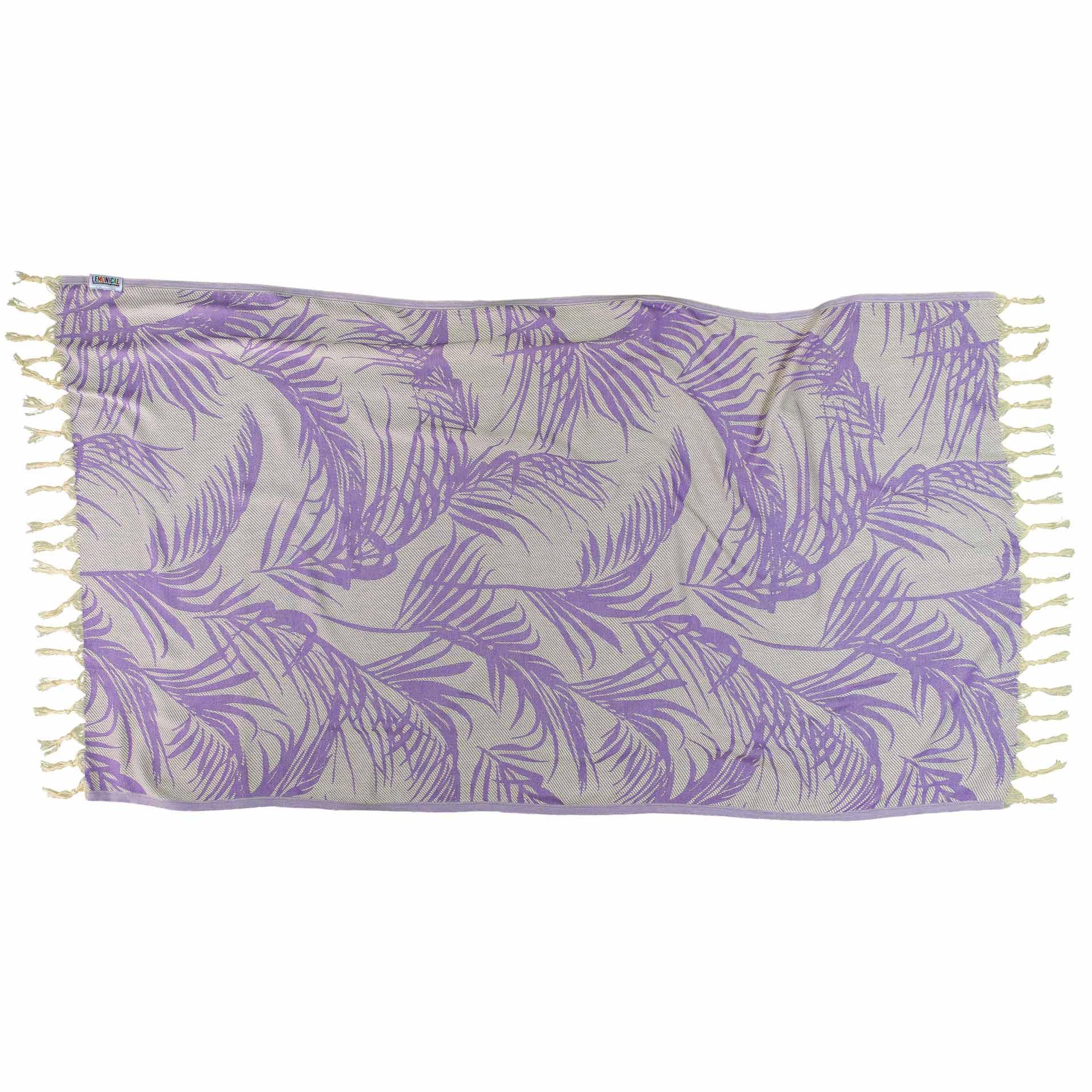 LILAC FEATHER-Towel-Lemonical-2
