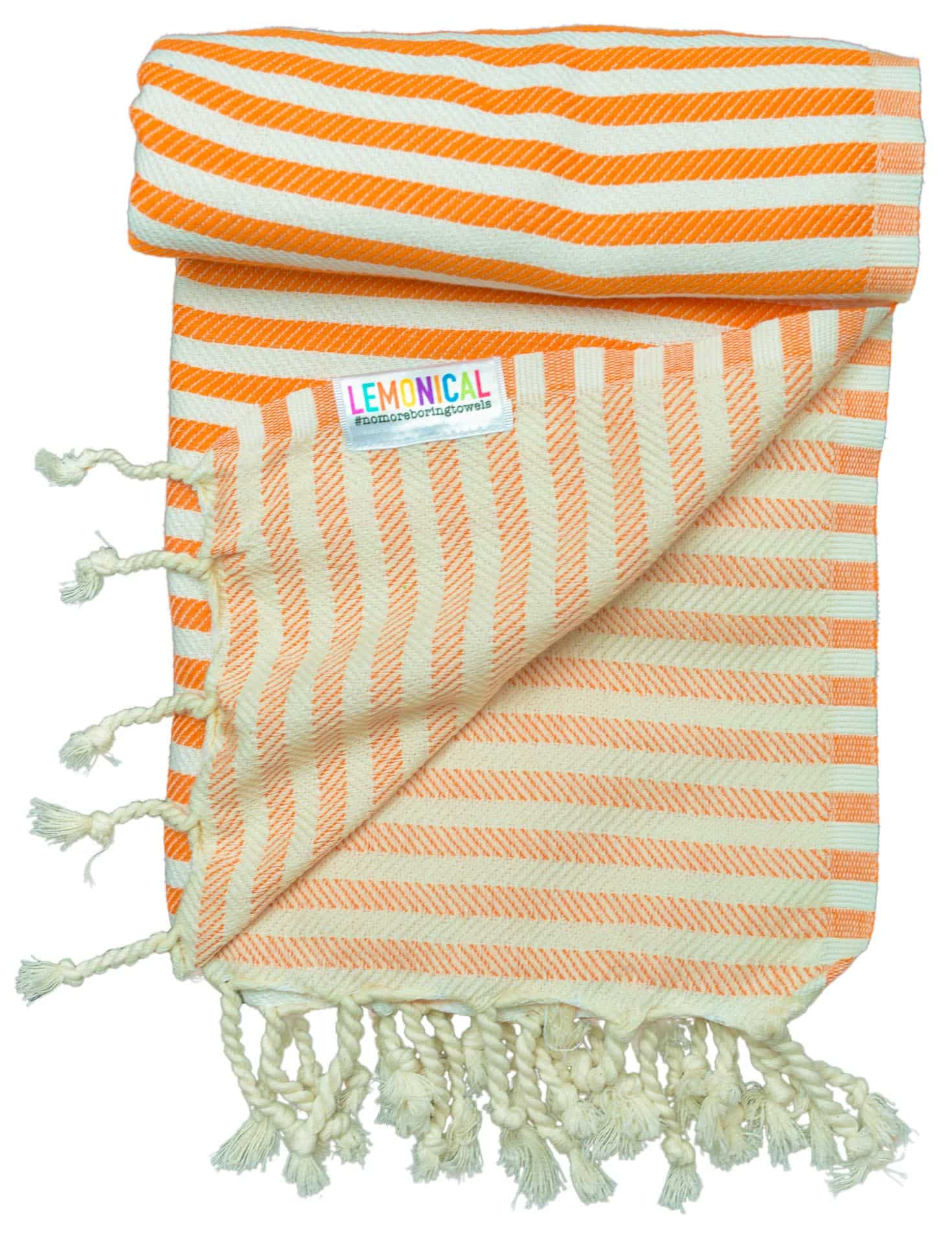 NAUTIC-ORANGE-Towel-Lemonical-3