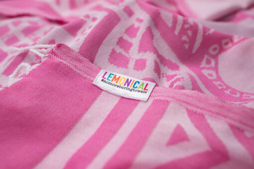 PINK ELEPHANT-Towel-Lemonical-3