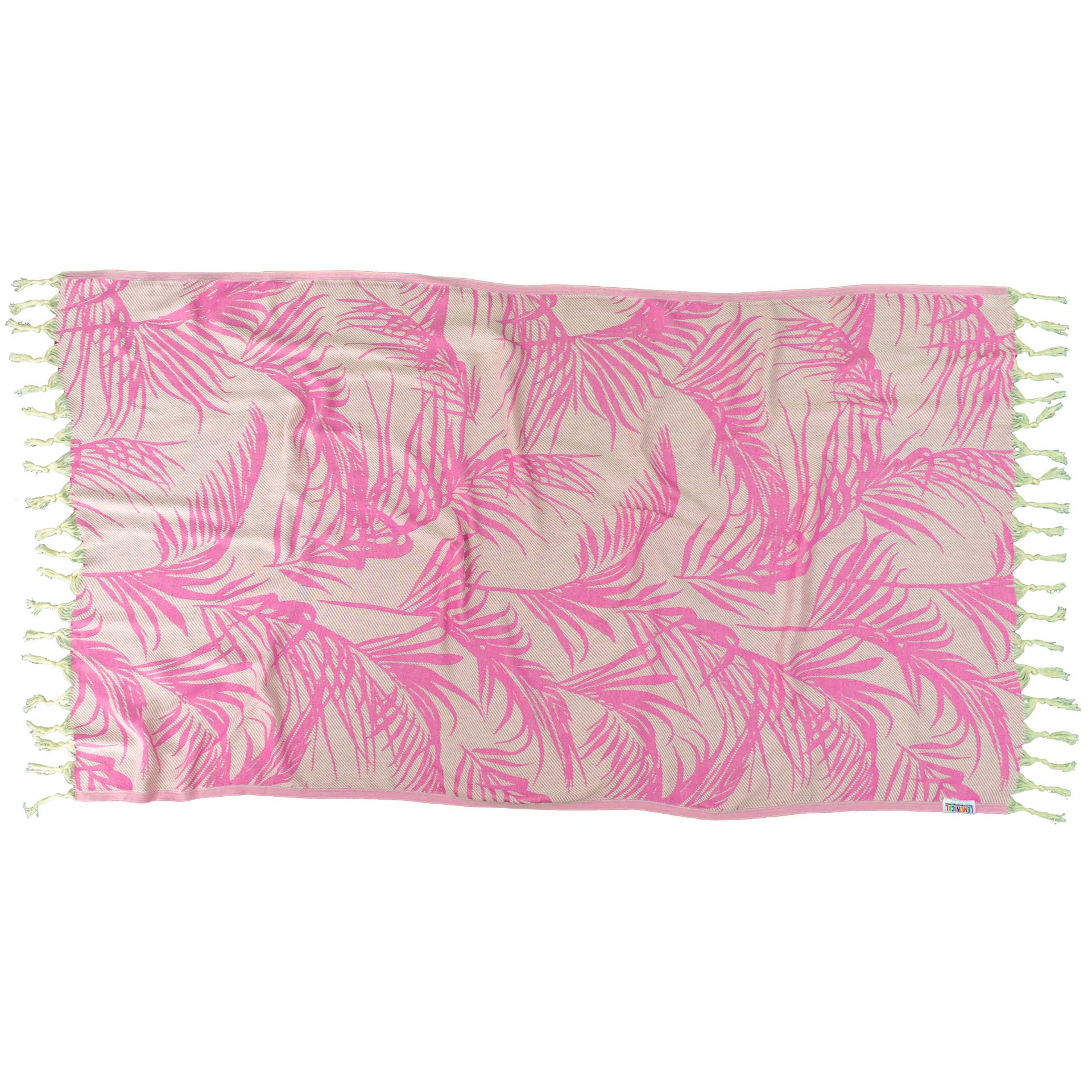 PINK FEATHER-Towel-Lemonical-2