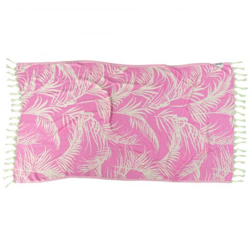 PINK FEATHER-Towel-Lemonical-1