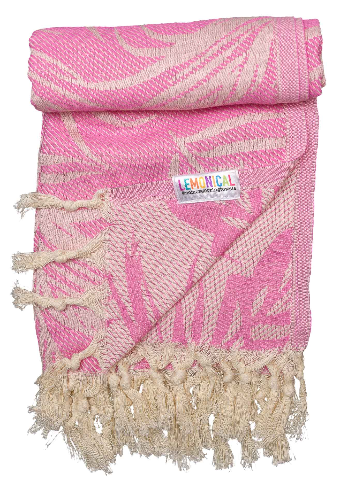 PINK FEATHER-Towel-Lemonical-4