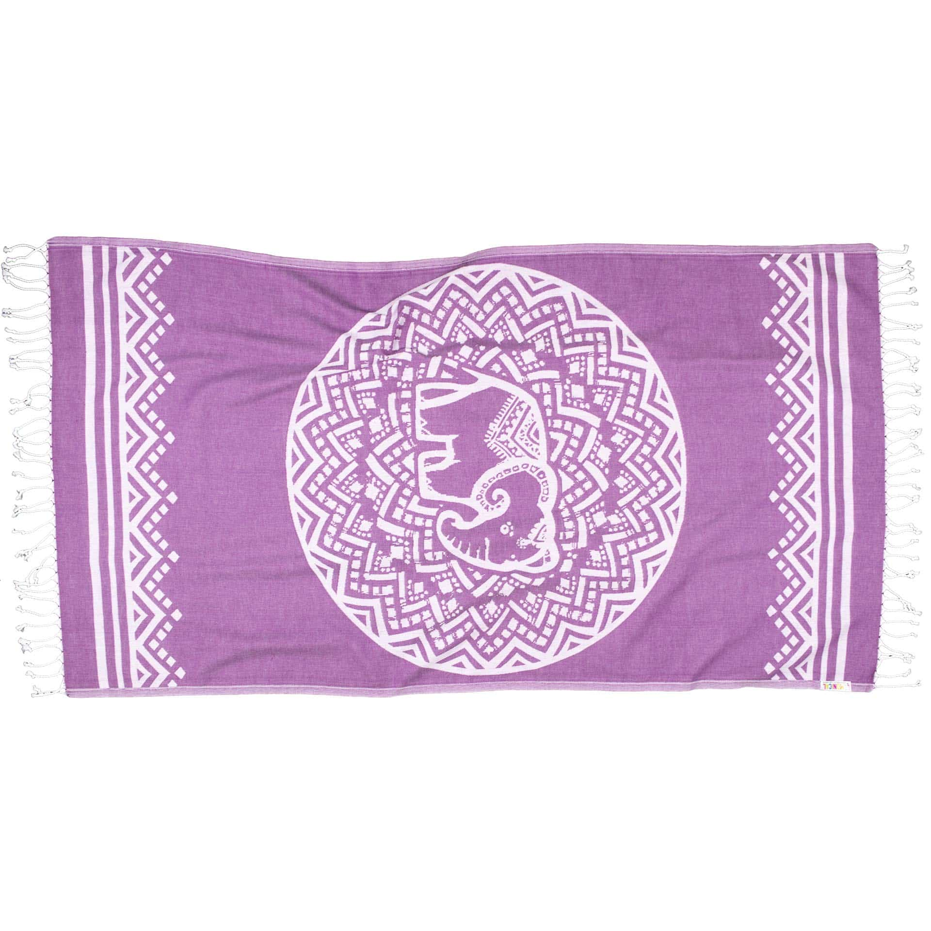 PURPLE-ELEPHANT-Towel-Lemonical-1