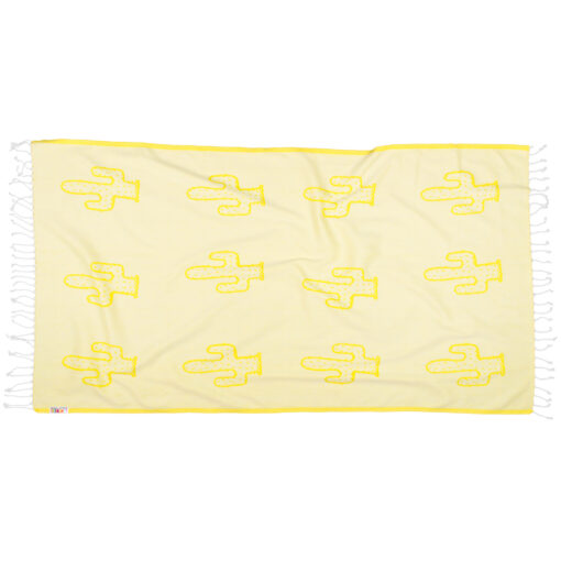 YELLOW-CACTUS-Towel-Lemonical-2