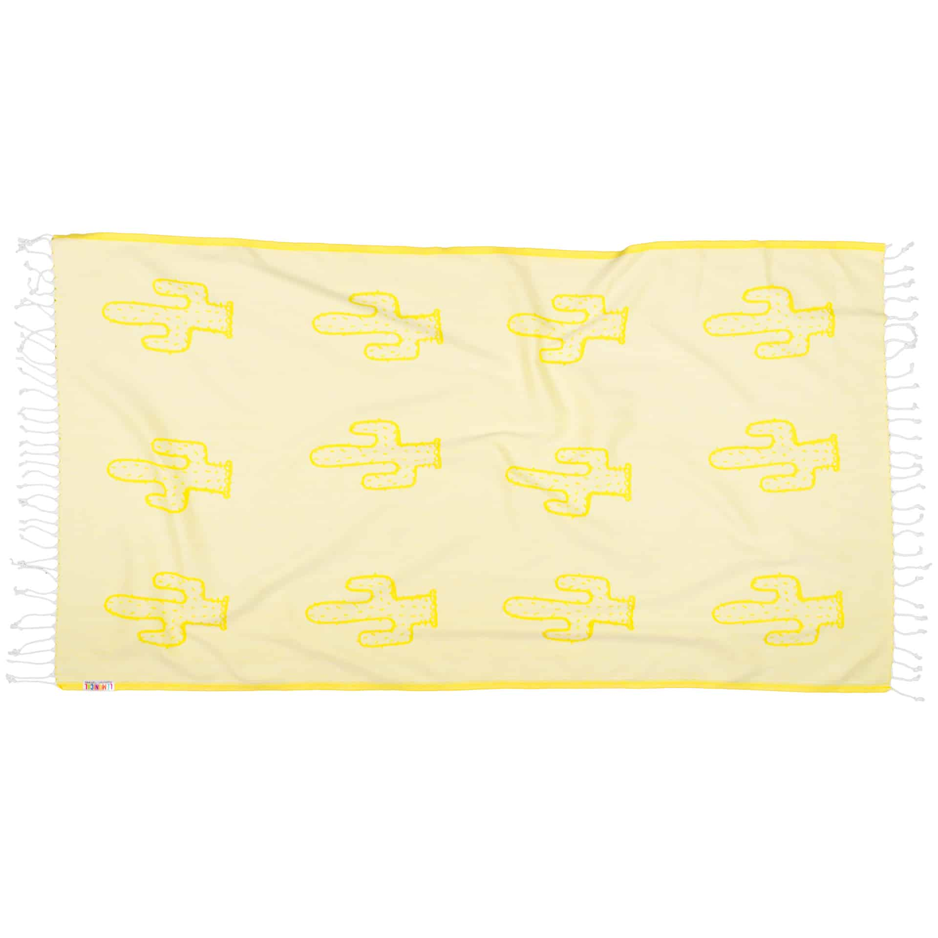 YELLOW-CACTUS-Towel-Lemonical-2