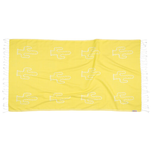 YELLOW-CACTUS-Towel-Lemonical-1