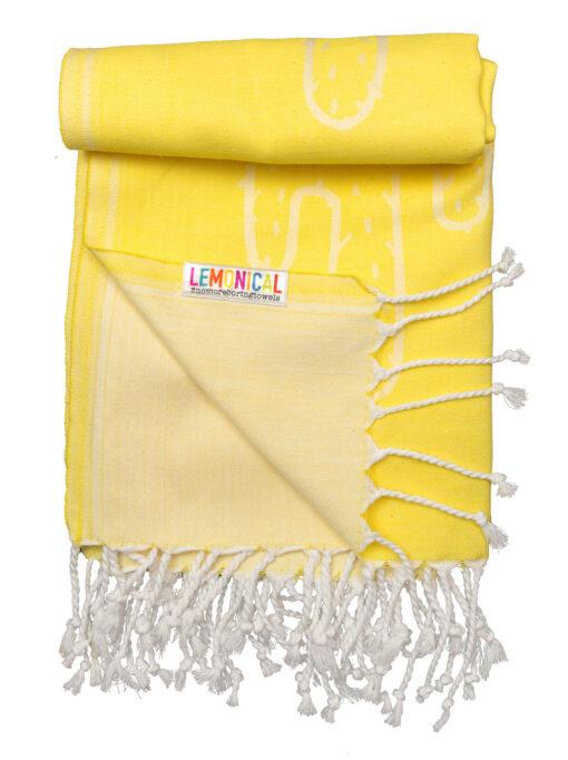 YELLOW-CACTUS-Towel-Lemonical-4
