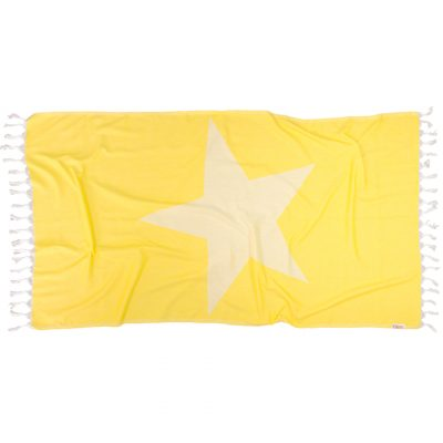 YELLOW-STARFISH-Towel-Lemonical-1