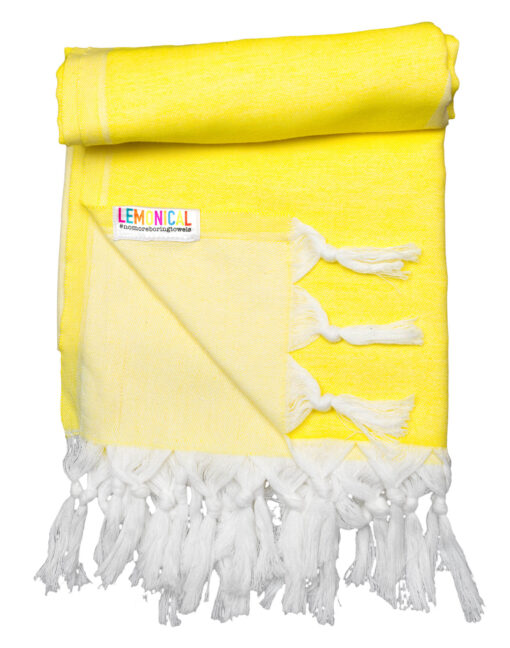 YELLOW-STARFISH-Towel-Lemonical-4
