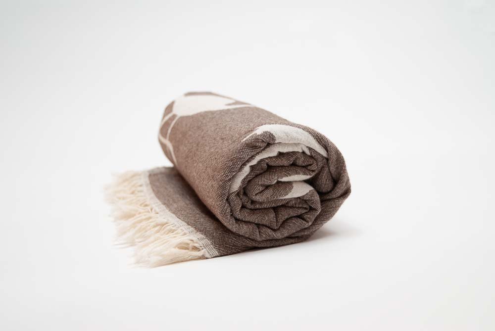 BROWN FLAMINGO Towel Lemonical-5
