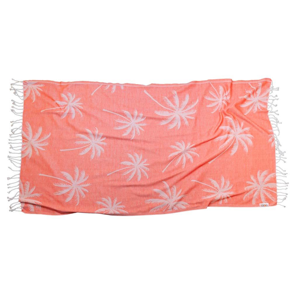 CORAL PALMS Towel Lemonical-1