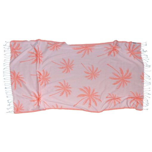 CORAL PALMS Towel Lemonical-2
