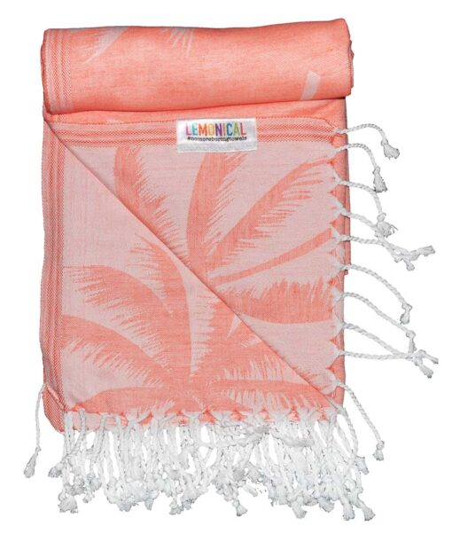 CORAL PALMS Towel Lemonical-4
