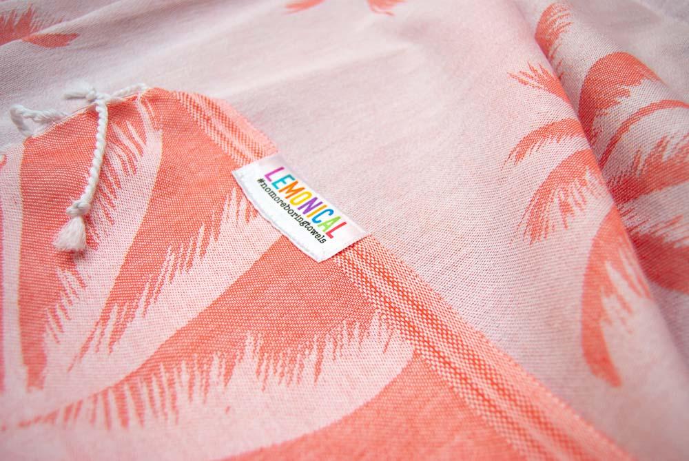 CORAL PALMS Towel Lemonical-3