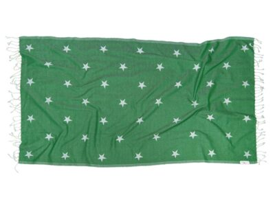 зелена кърпа за плаж GREEN GALAXY