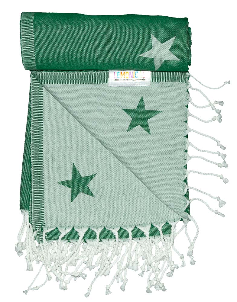 GREEN GALAXY Towel Lemonical-4