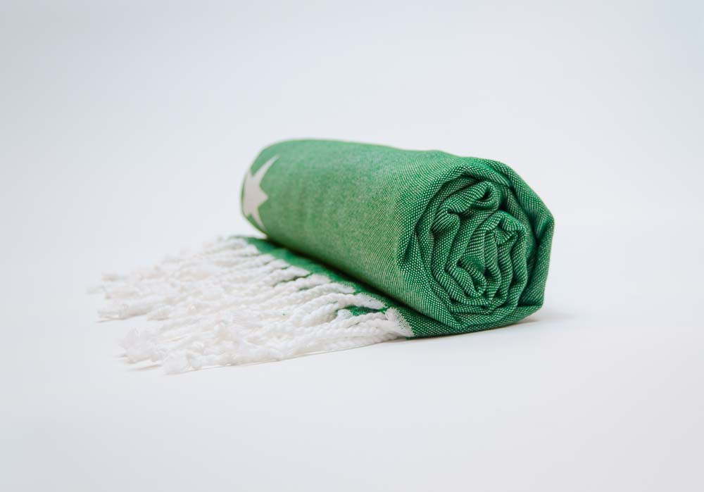 GREEN GALAXY Towel Lemonical-5