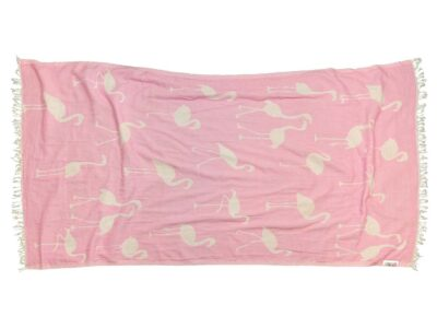 PINK FLAMINGO Towel Lemonical-1