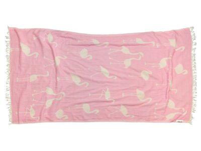 PINK FLAMINGO Towel Lemonical-1