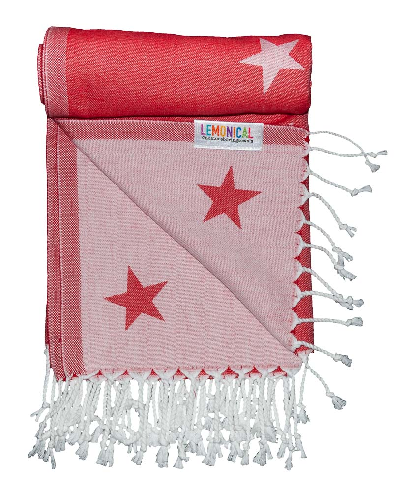 RED GALAXY Towel Lemonical-4