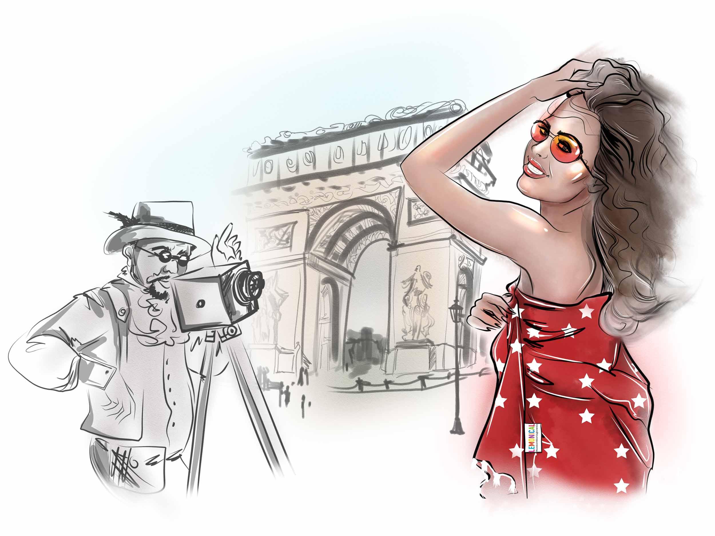 илюстрации LEMONICAL - Paris