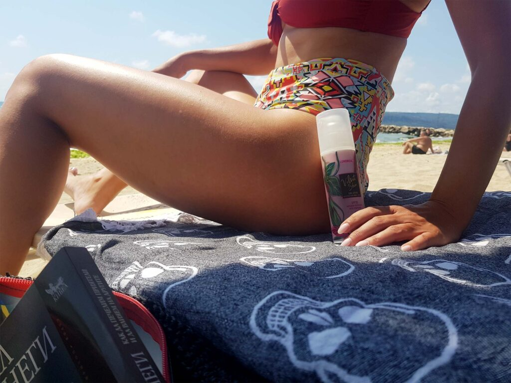 слънцезащитен крем със слуз от охлюви резултат