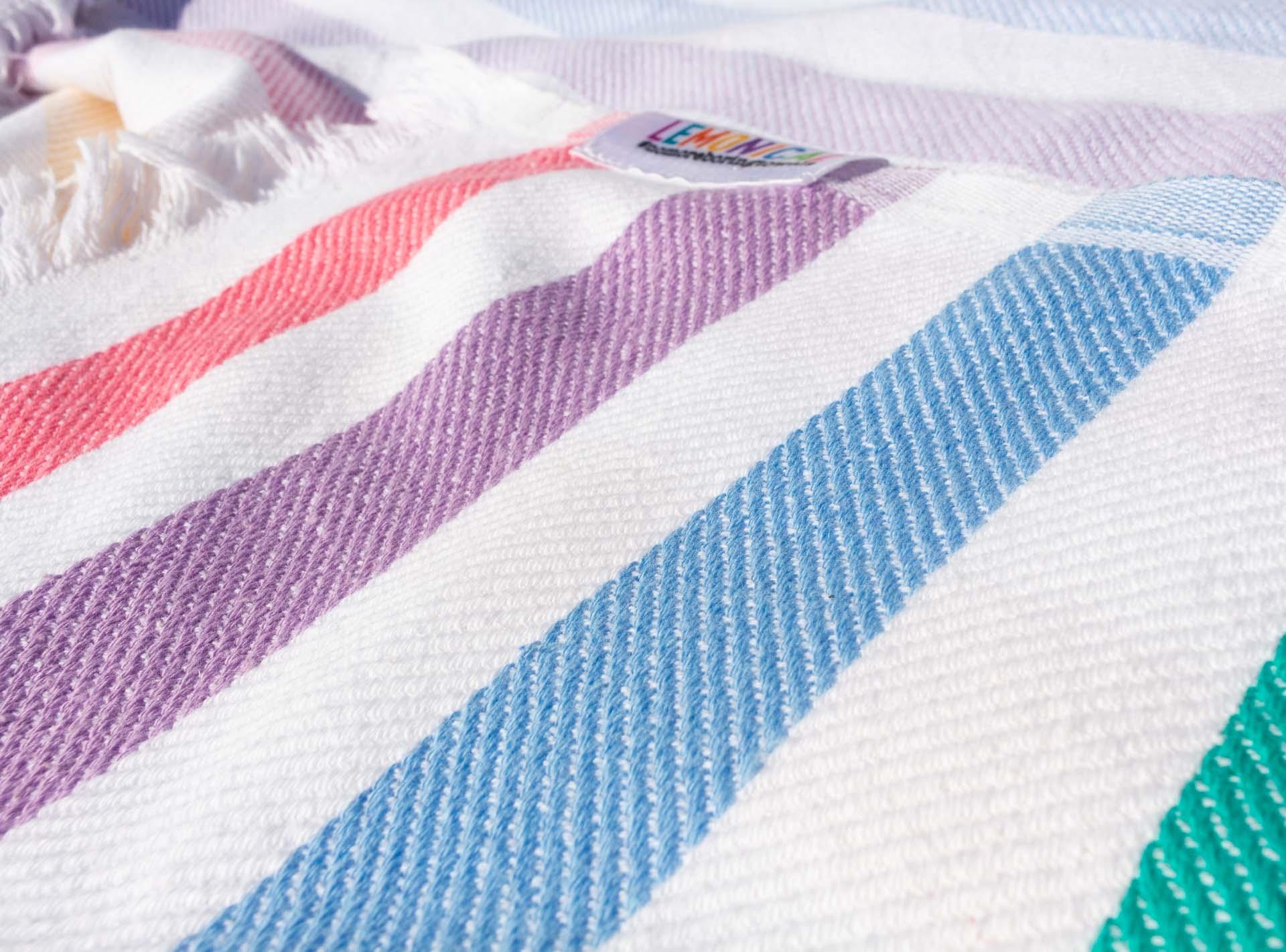 colourful HOPI towel bath