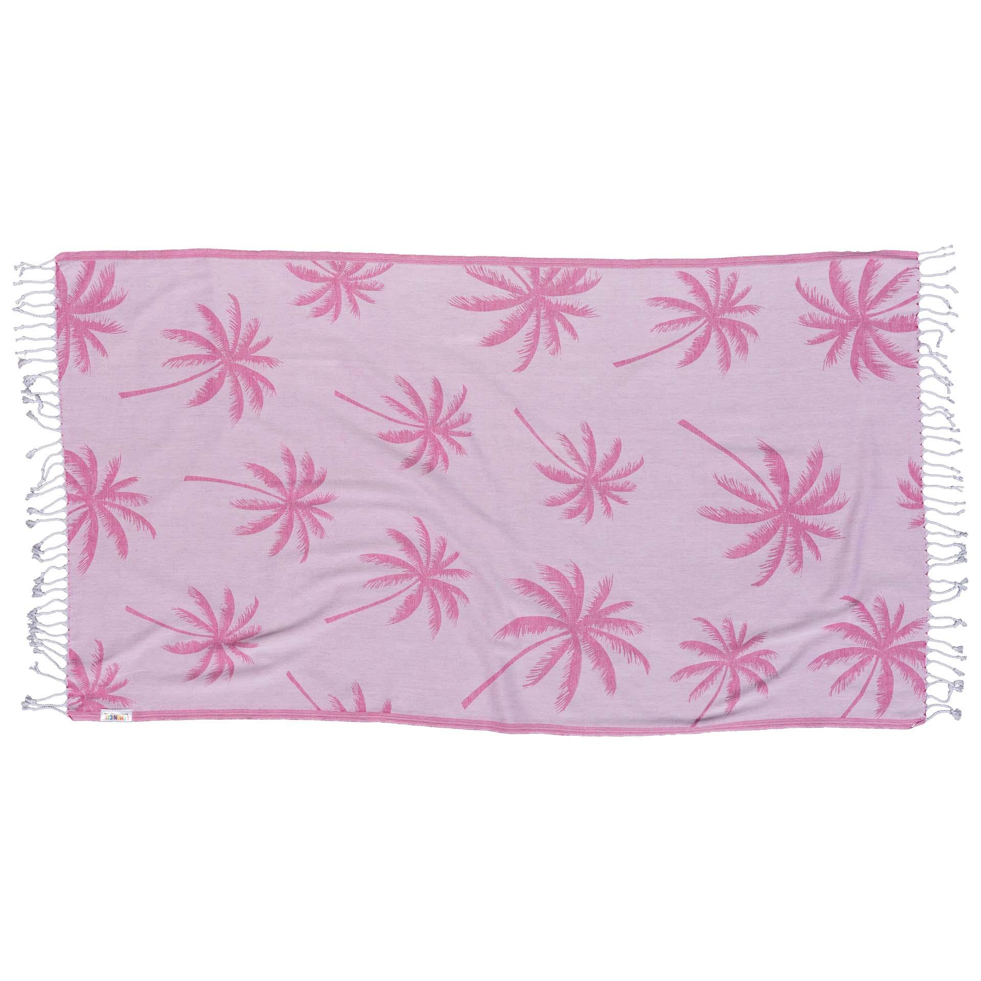 фуксия кърпа за плаж 2