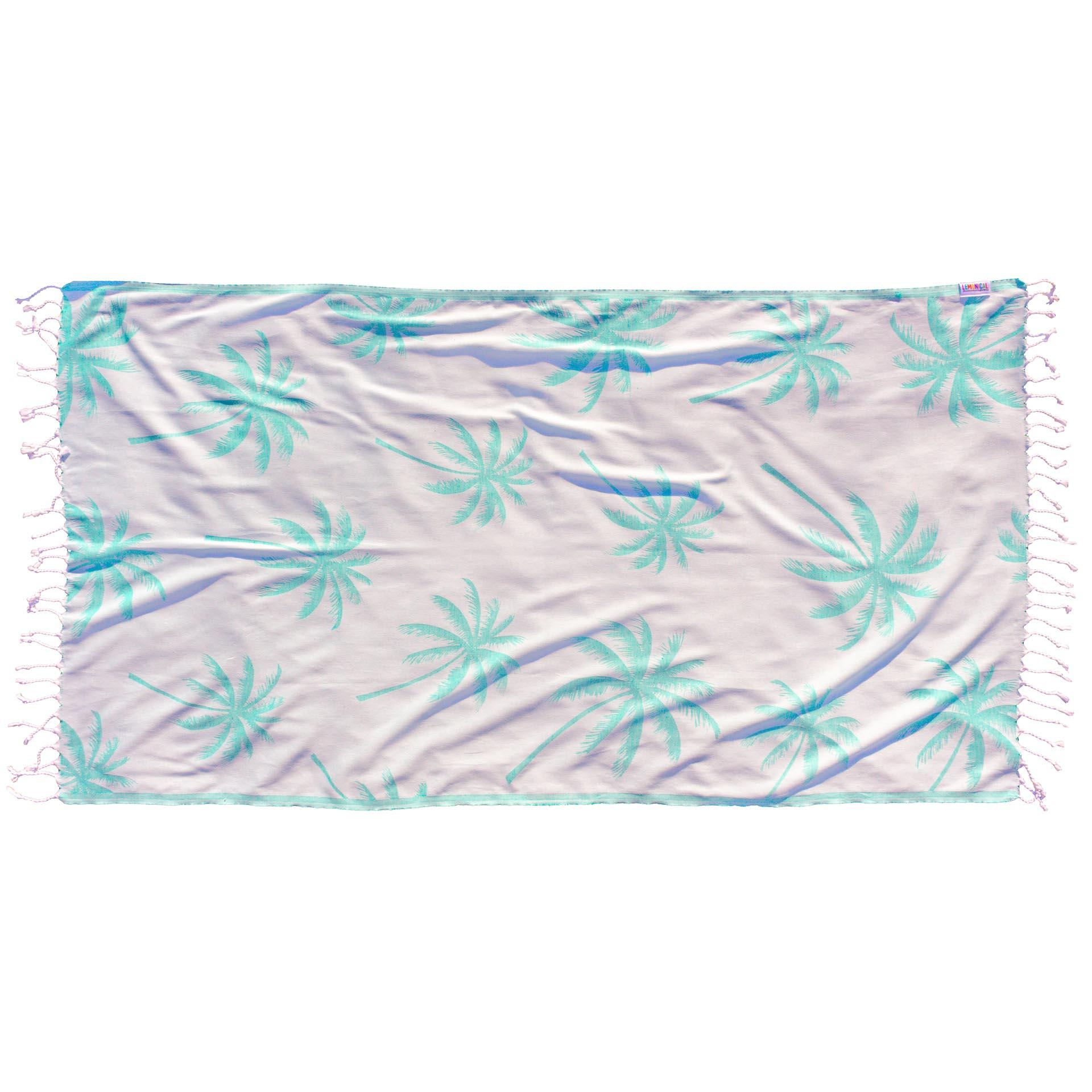 GREEN PALMS Towel Lemonical 2