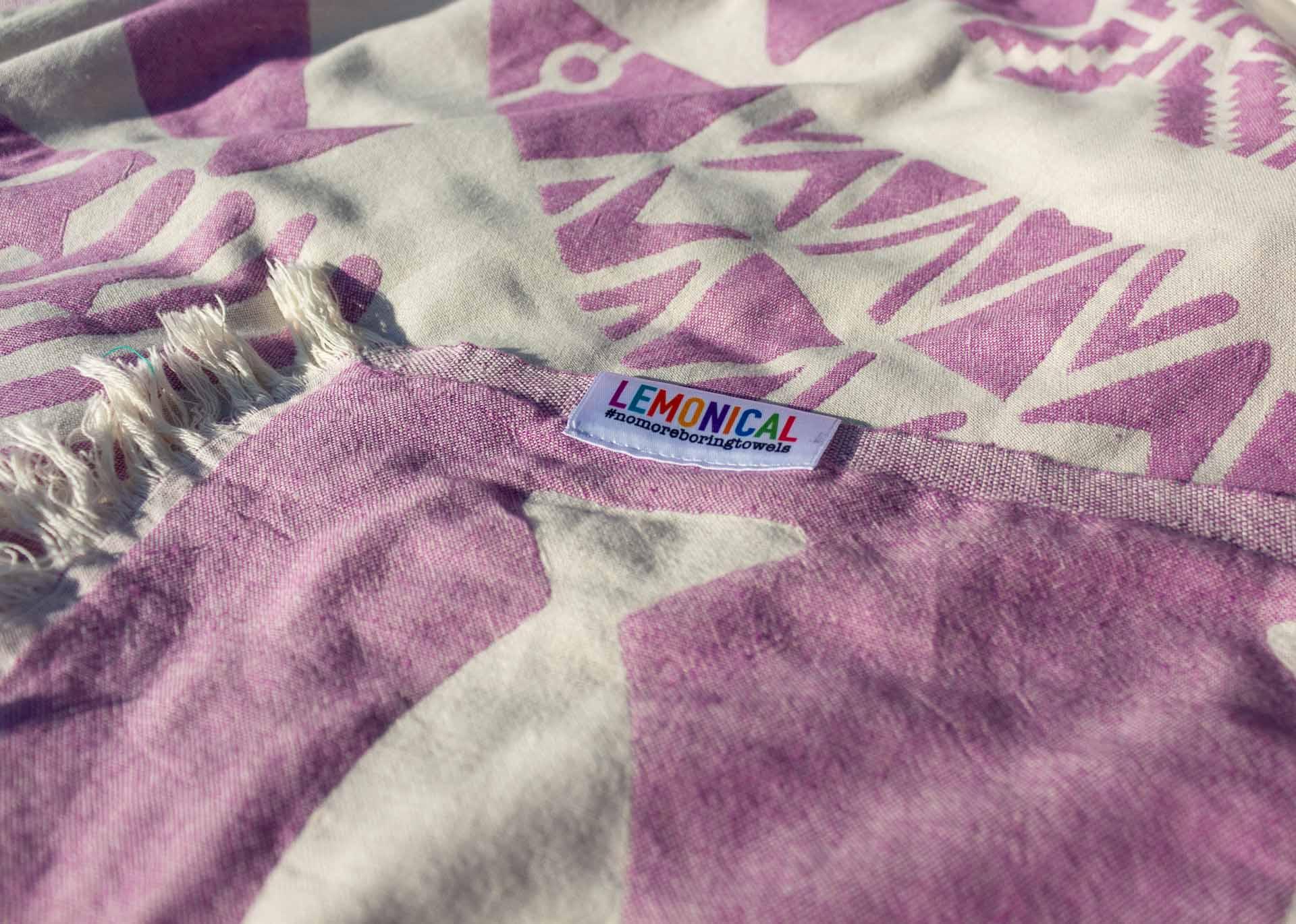 попивна кърпа PURPLE BARRACUDA 2
