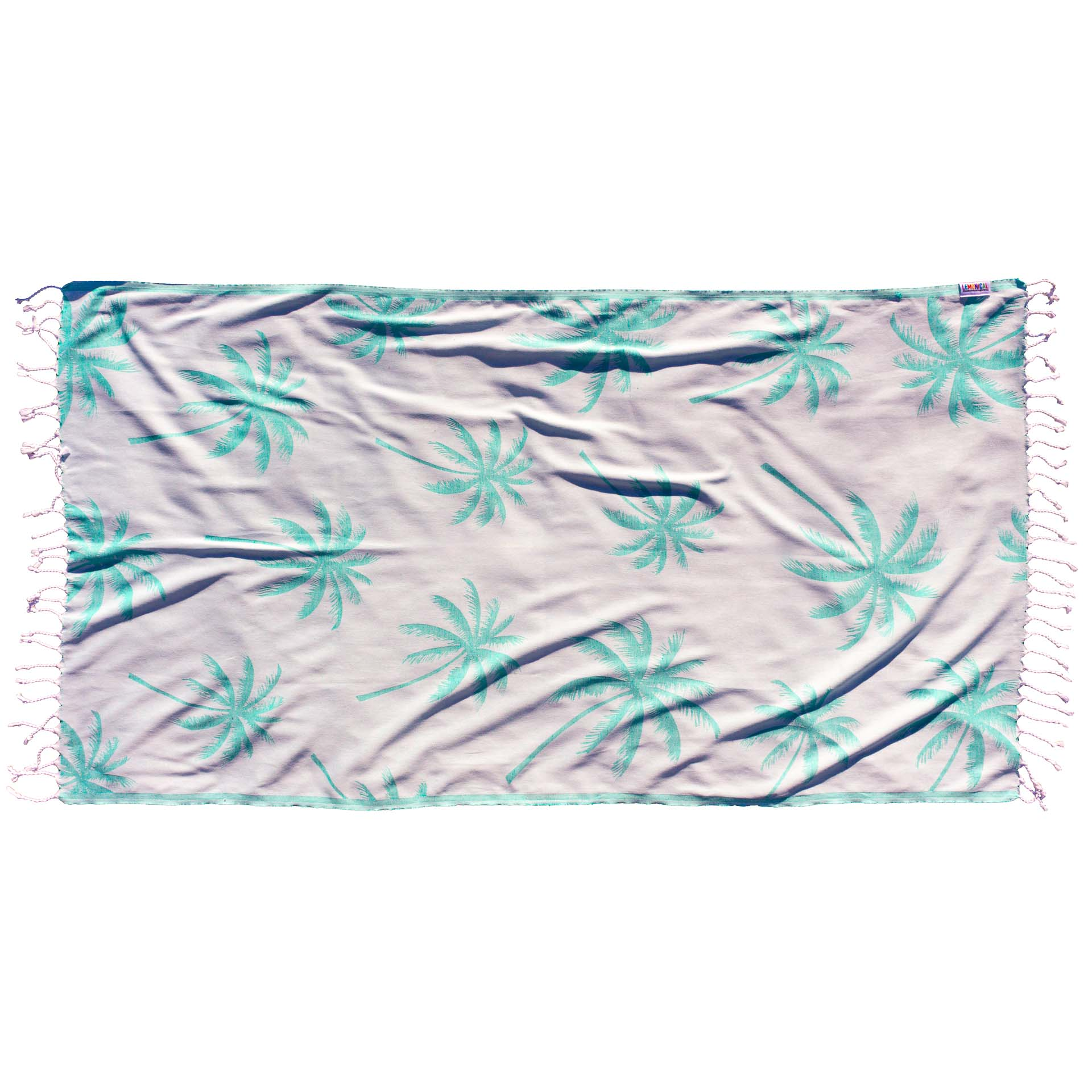 GREEN PALMS Towel Lemonical 1