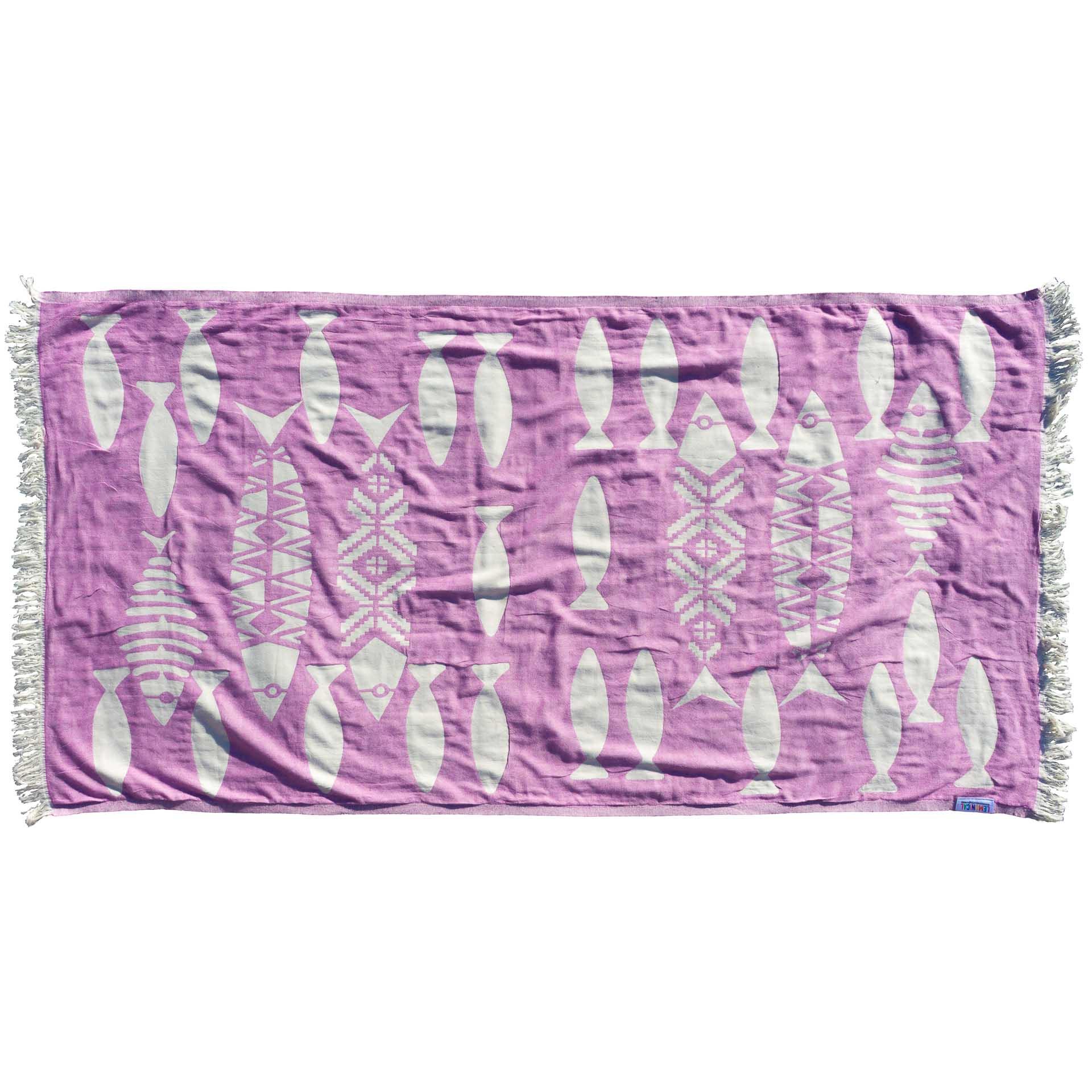 лилава кърпа PURPLE BARRACUDA