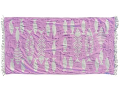 PURPLE BARRACUDA Towel